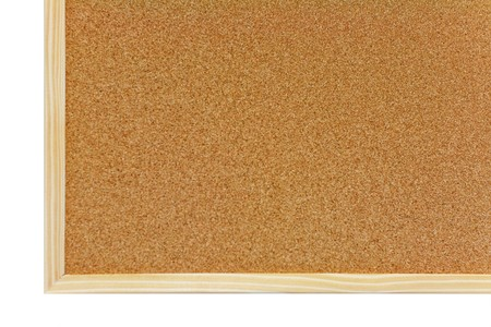 Brown corkboard with wooden frame Stock Photo - 7436009