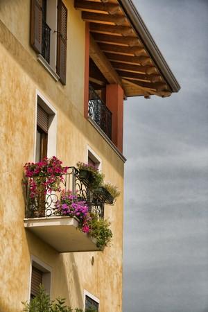 Lovely Italian house with balcony Stock Photo - 7435899