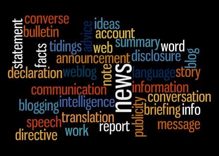 verb: Una nube de palabra con la comunicaci�n relacionada con t�rminos  Vectores