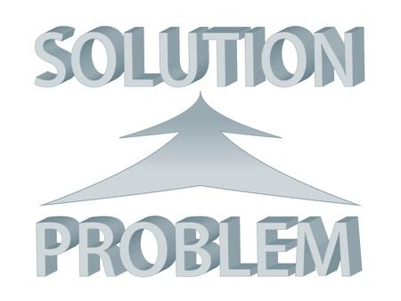 resoudre probleme: Sch�ma avec le probl�me de mots et de la solution, repr�sentant la r�solution de probl�mes