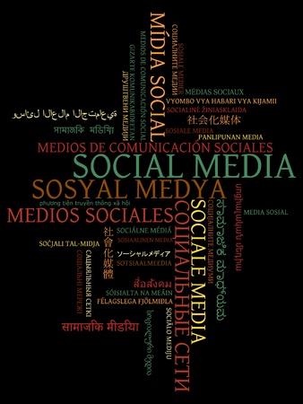 핀란드의: 세계의 다른 언어로 소셜 미디어 텍스트 디자인