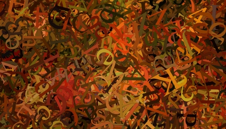 numbers abstract: Abstract background with alphabet letters and numbers