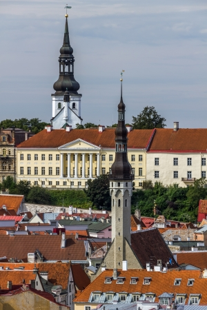 Town Hall, von Kaulbars Palace and St Mary
