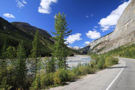 Viste su Icefield Parkway, Canada