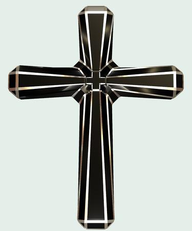 3 d: render 3 d cross