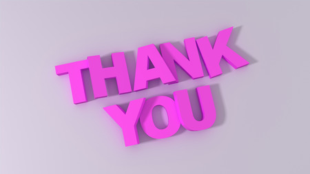 thank you sign: Thank You sign 3d  Render Stock Photo
