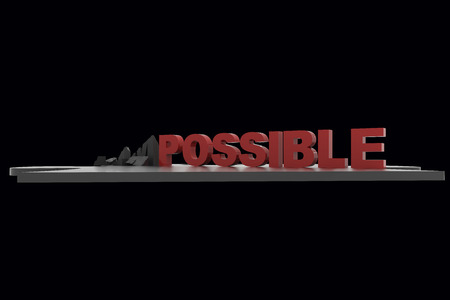 unachievable: Impossible into Possible 3d render RAW