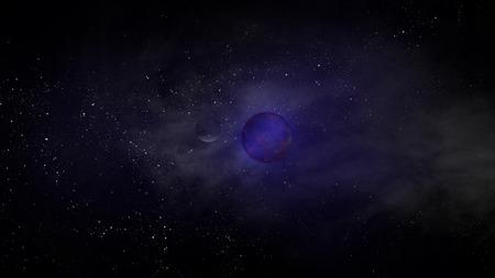 natural phenomenon: Space Galaxy Blue