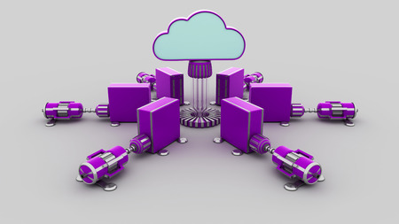 remote backup service: cloud computing