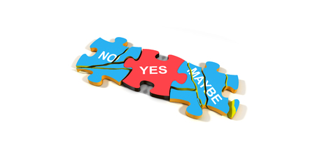 maybe: Yes No Maybe Puzzle