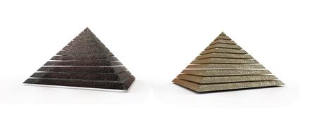 3d: Pyramid 3d render