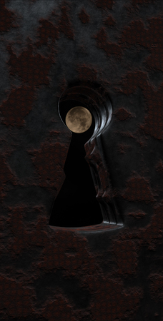 full of holes: Keyhole 3D rendering
