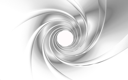Gun Barrel 3d rendering