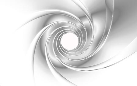 Gun Barrel rendering 3D
