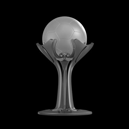 Trophy cup 3D rendering Фото со стока