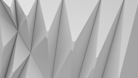 Polygon background 3d rendering