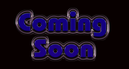 Coming soon message