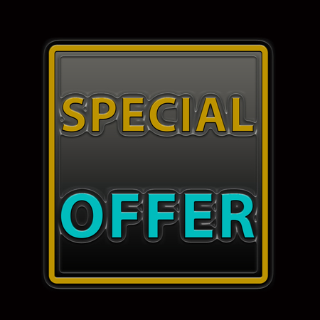 Special Offer  Icon 3d illustration