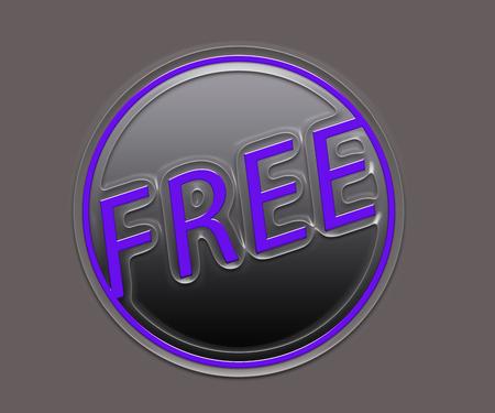 Free Symbol 3d illustration