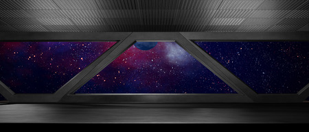 Space environment, ready for comp of your characters.3D rendering Stock fotó