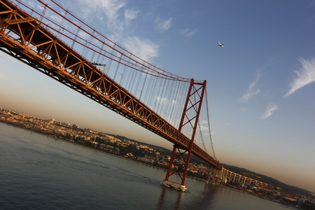 truly: The Ponte 25 April is truly spectacular Among the most attractive places of Lisbon it is anche from the railway route.