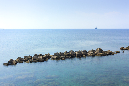 A view of the sea of Gallipoli. City destination for tourism and culture