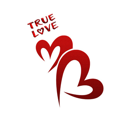 and has: Love has no age, and true love is forever