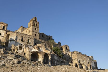 Craco, abandoned ghost town in Italy