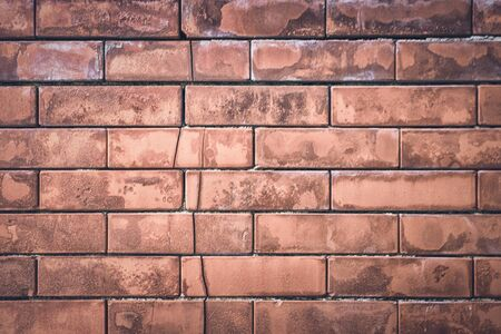 Brick wall, excellent for background or texture in design or layouts Banco de Imagens