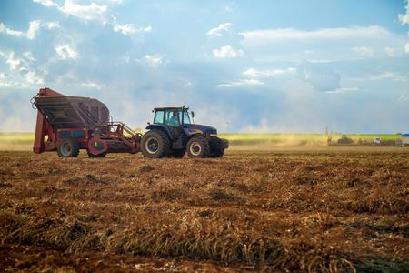 Peanut tractor