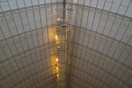 roof industry metal space