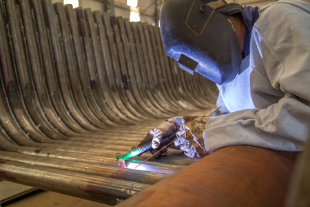 welder industrial worker