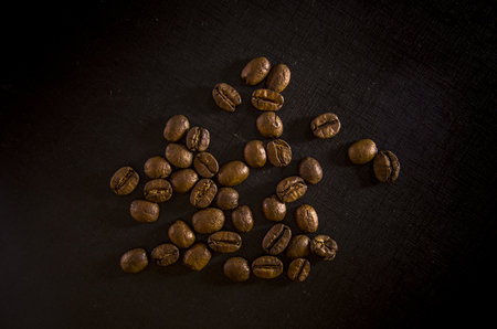 Coffee isolated close seed concept