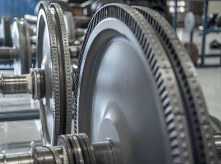 turbine rotor internal steel machine