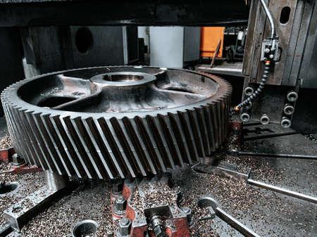 Industry lathe machine milling cutter gear precision work