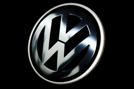 Volkswagen logo  editorial