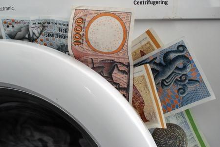money laundering: Money laundering Stock Photo