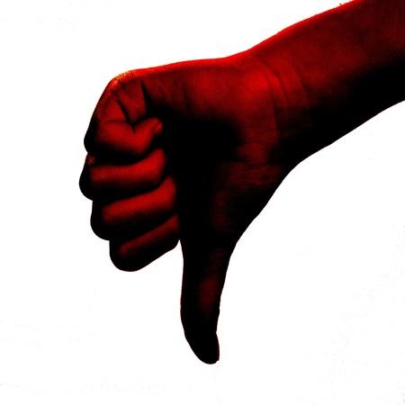 redish: Redish thumb down