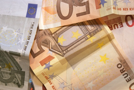 circulated: Euro, banknotes