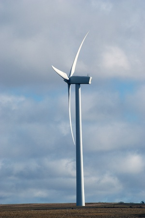 Windturbine, sideview Stock Photo - 12875241