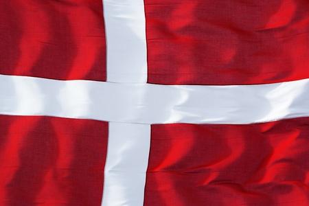 danish: Dannebrog celebrates birthday - Danish culture Stock Photo