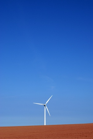 vestas: Wind turbine on colourful soil