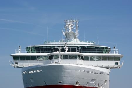 capitan de barco: Comando de puente en crucero anclado en el mar B�ltico