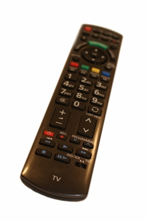 remotes: Isolated remote control  Watching tv