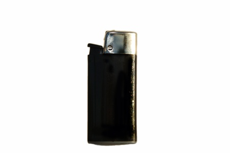 Simple black  pocket lighter Stock Photo - 13900579