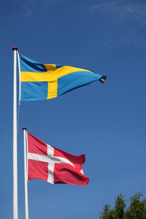 neighbouring: Close neighbours, Denmark and Sweden