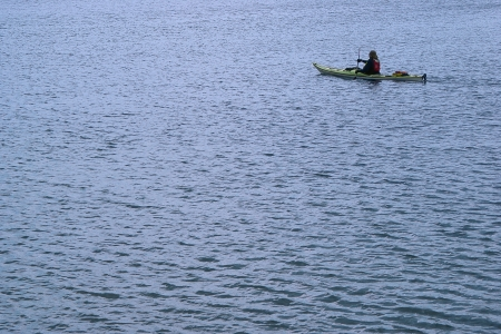 countrysides: Rowing alone in quiet waters