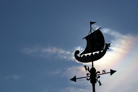Vikings, a nordic weather wane