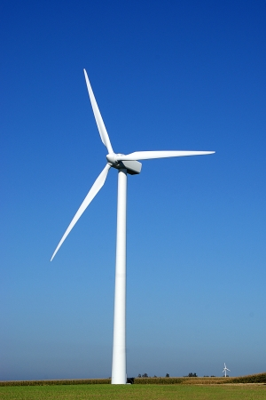 vestas: Alternative energy produced by huge windturbine