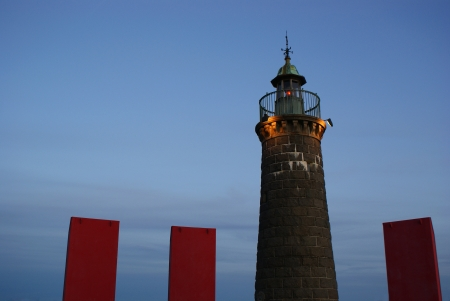 Scandinavian light house Stock Photo - 14534669